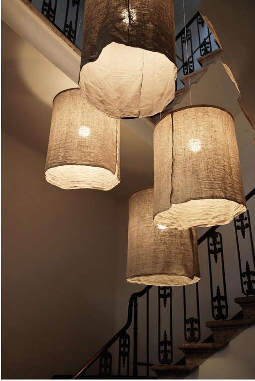 Diy Rustic Linen Lampshades From Italy Remodelista