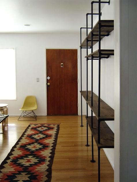diy shelving system | DIY: Shelving System from the Brick House: Remodelista