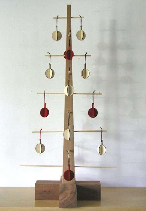 Holiday Decor Wooden Christmas Trees Remodelista