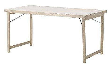 Furniture goran folding table at ikea remodelista - Folding wooden table ikea ...