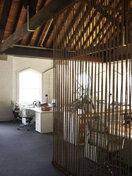 Diy Rope Room Divider By Alwill In Australia Remodelista