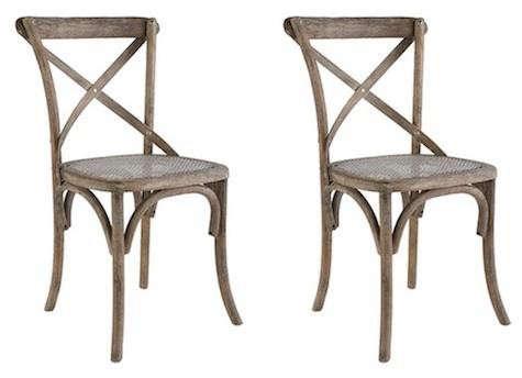 Design Sleuth DBGB Thonet Bistro Chair & Copper Pots
