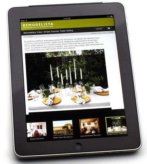 remodelista updated iphone ipad apps remodelista