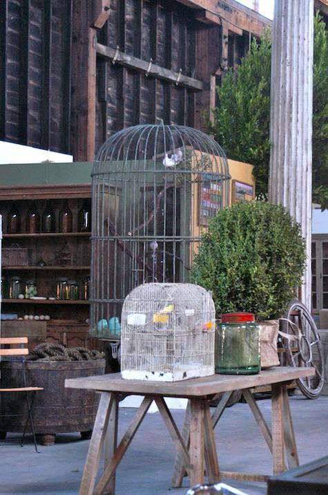 Steel-birdcage-big-daddy-sawhorse-table