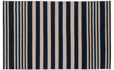 walls, windows & floors: black and white graphic rugs 11
