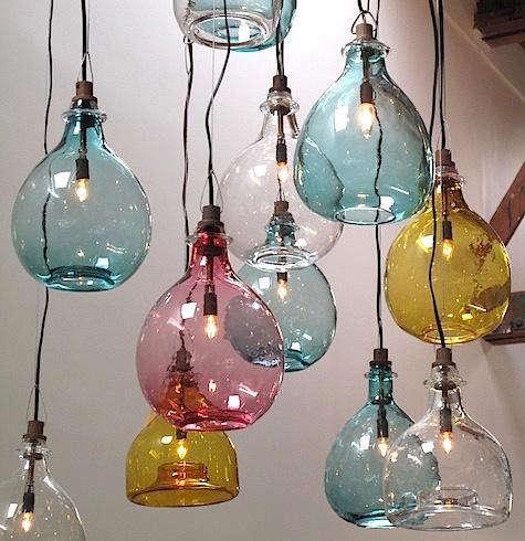 Lighting Handblown Glass Pendants from Cisco Brothers  Remodelista