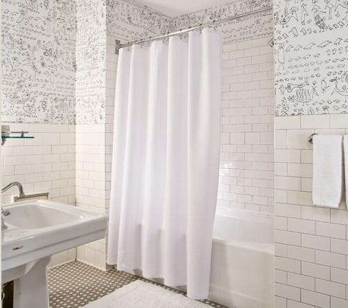 Steal This Look: Soho Grand Bathroom In New York: Remodelista