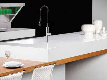 Tile countertop new pure white from caesarstone for Caesarstone portland