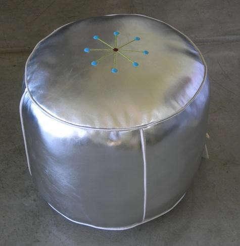 Silver-moroccan-pouf-ferrol