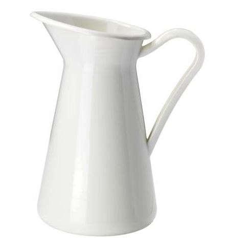 ikea-white-enamel-pitcher