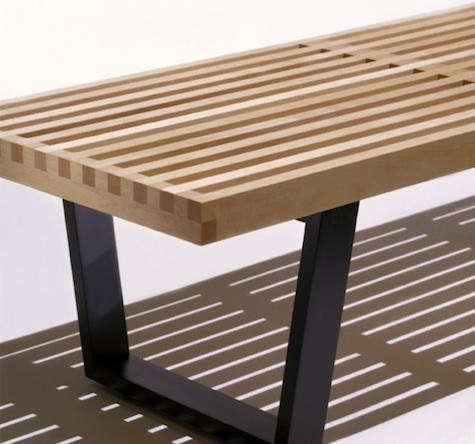 nelson-bench-black-legs-detail