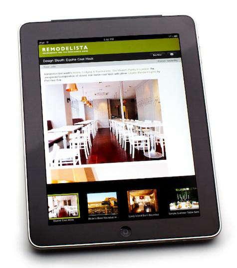 New Remodelista IPhone/iPad App : Remodelista