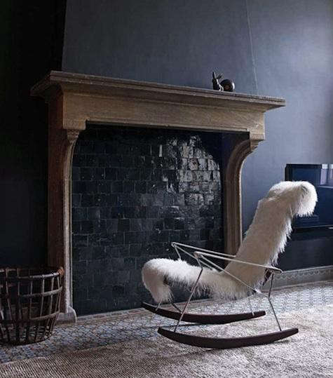 tiled-fireplace