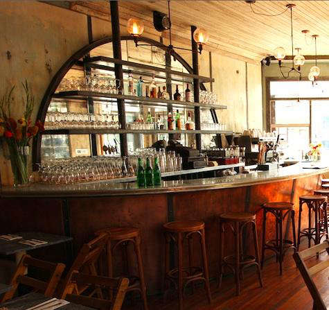 Hotels lodging restaurants five leaves in brooklyn remodelista for Living room steakhouse brooklyn