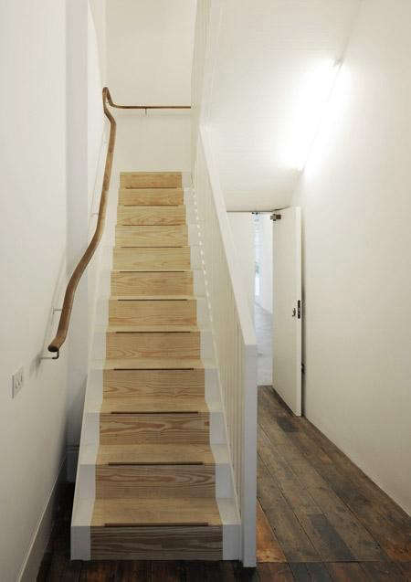 Architectural Detail High Low Sinuous Handrail Remodelista