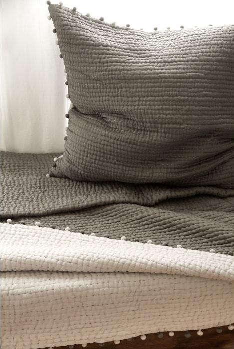 gray-silk-pompom-pillow