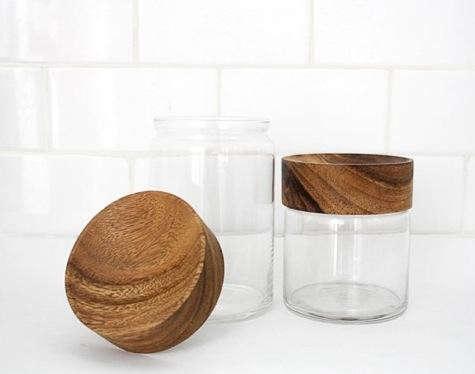 Woodtopjars