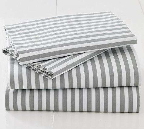 Stripeprintbedding