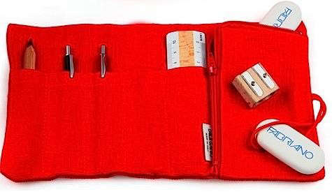 fabriano-pencil-case-red