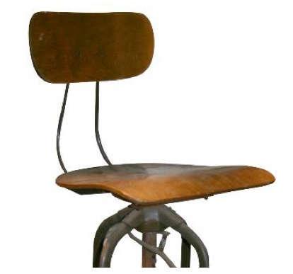 vintage toledo chair