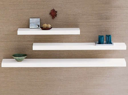 Chunky Wall Shelves: Remodelista