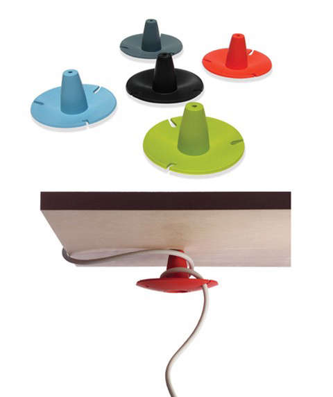 Office Cord Manager Remodelista