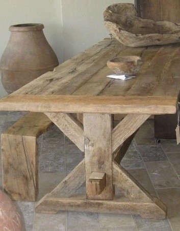 wooden-trestle-table