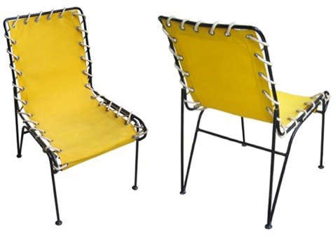 yellow-vintage-patio-chairs