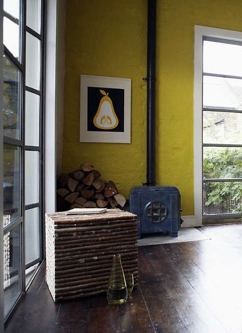 Steal This Look Springlike Yellow Living Room Remodelista