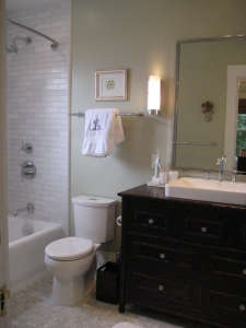 after, Remodelista: Best Bath Space, A remodel of a 6'5