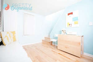 Entryway-with-a-secret-hidden-dining-room.-Prettyo, Remodelista: Best Dining Space, We added tons of storage to our tiny entryway, creating a budget-friendly hidden dining room. DIY dining table has built-in storage & folds into an entryway table. Repurpo