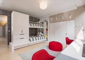 custom-loft, Remodelista: Best Bedroom Space, Kids bedroom for two brothers