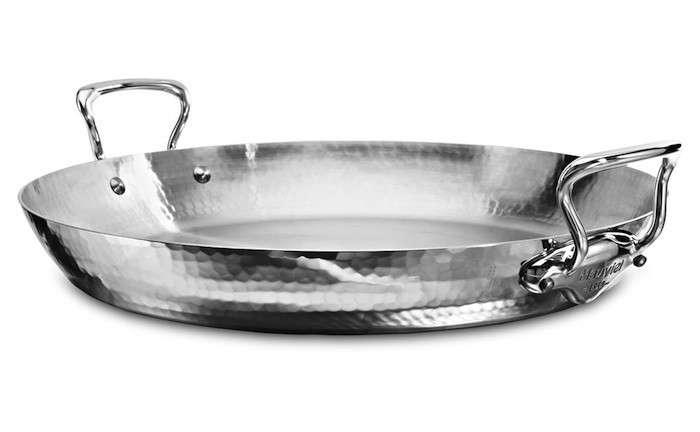 paella-pan-mauviel-hammered-steel