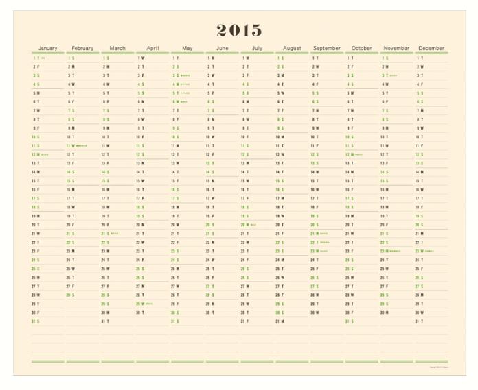 postalco-wall-calendar-Remodelista
