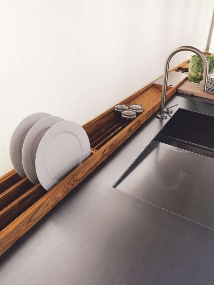 a custom dish drainer via italian company riva \19\20. 11