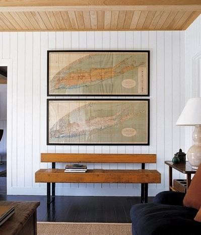 wall-decor-maps-elle-decor
