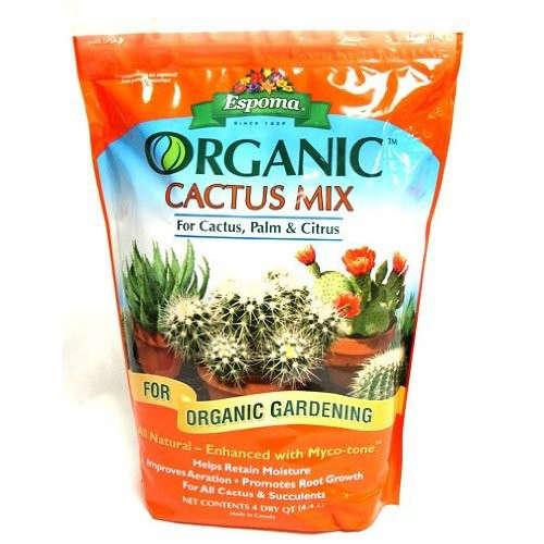 Espoma ca4 4 quart organic cactus mix gardenista for Organic soil brands