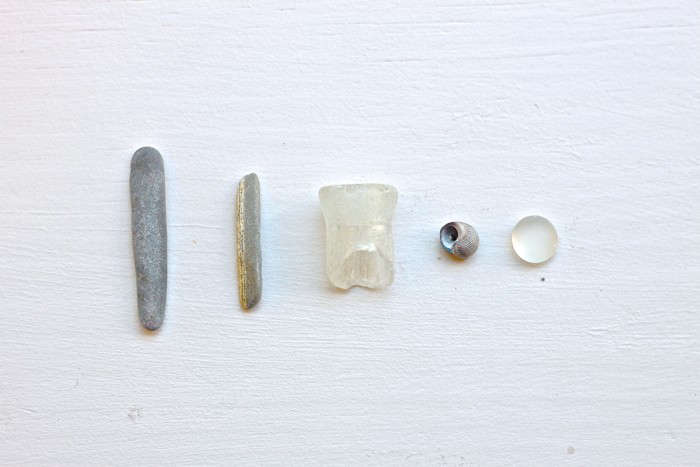 Beach Combing in grey by J. Hand for Gardenista