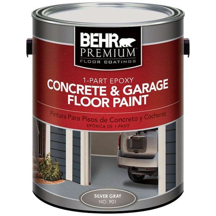 Hardscaping 101 garage flooring gardenista for 1 part epoxy concrete garage floor paint