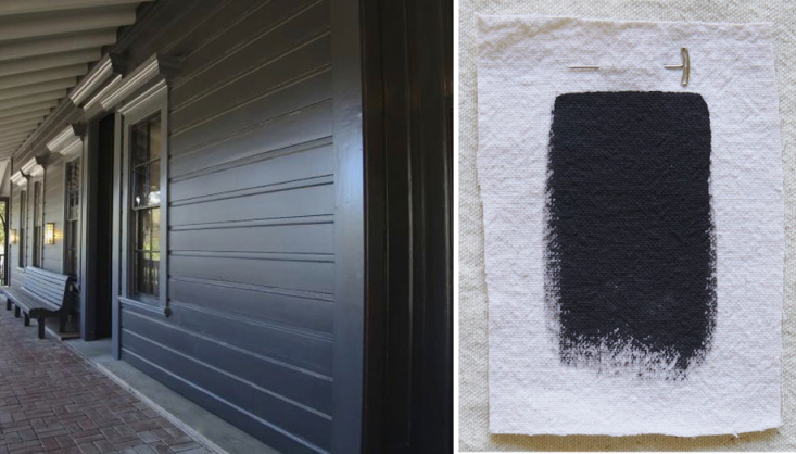 best exterior black house paint colors benjamin moore black panther gardenista