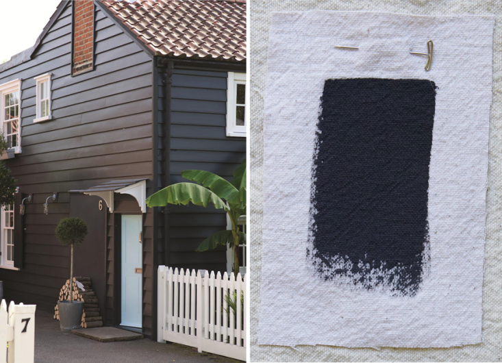 Best Exterior Black House Paint Colors, Farrow and Ball Off Black, Gardenista
