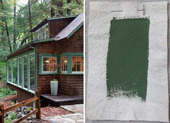 Seeing green architects pick the 9 best exterior green for Green exterior house paint