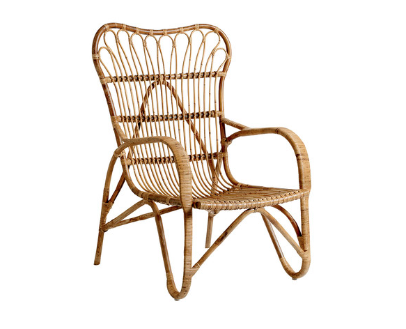Bloomingville-Rattan-lounge-chair-gardenista