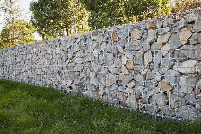 Hardscaping 101 Gabion Walls Gardenista