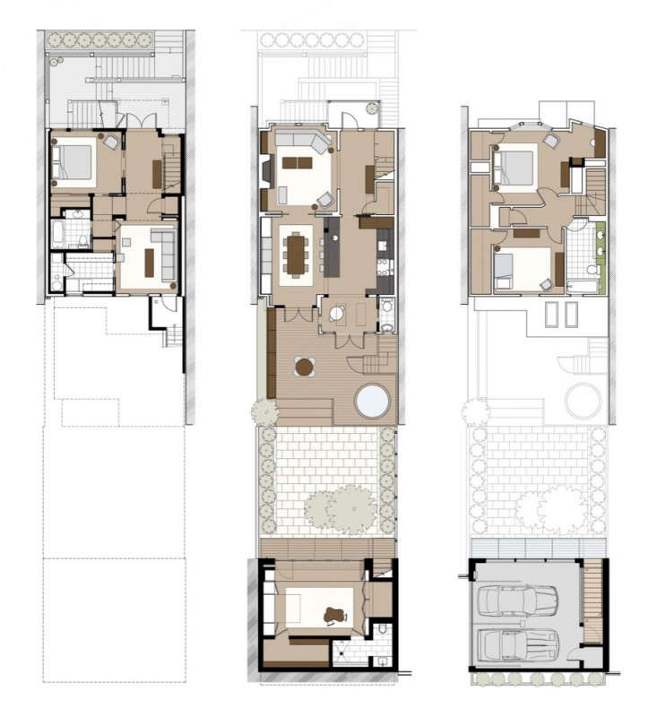 Cary Bernstein Converted Garage Floor Plan, Gardenista
