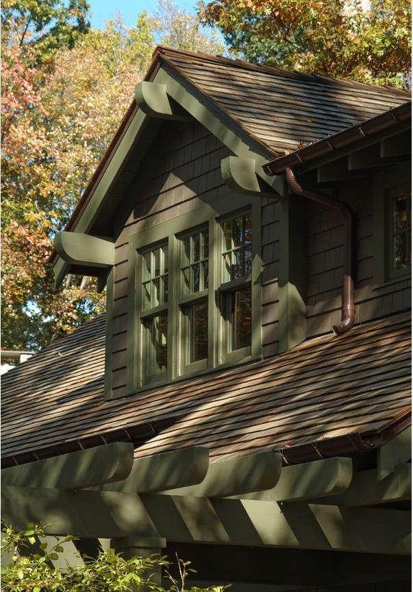 Hardscaping 101 Wood Shake And Shingle Roofs Gardenista