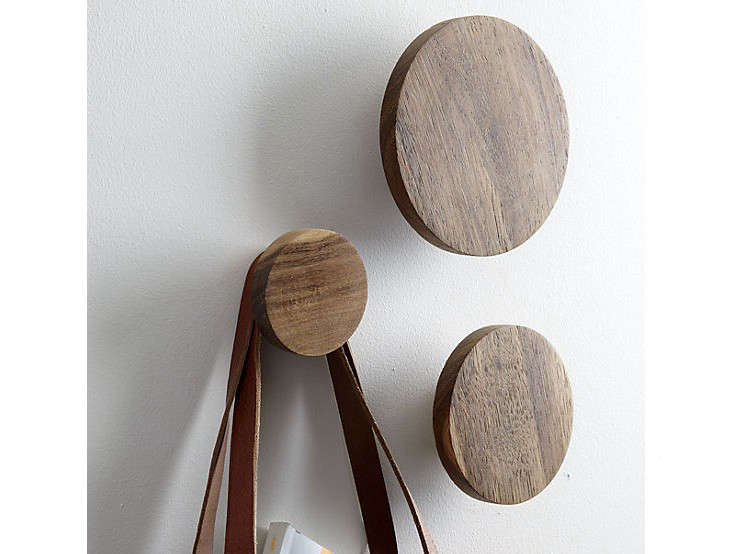 Round Coat Hooks 10 easy pieces: wooden pegs and hooks - gardenista