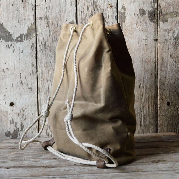 Croaker Sack Bag by Peg and Awl, Gardenista
