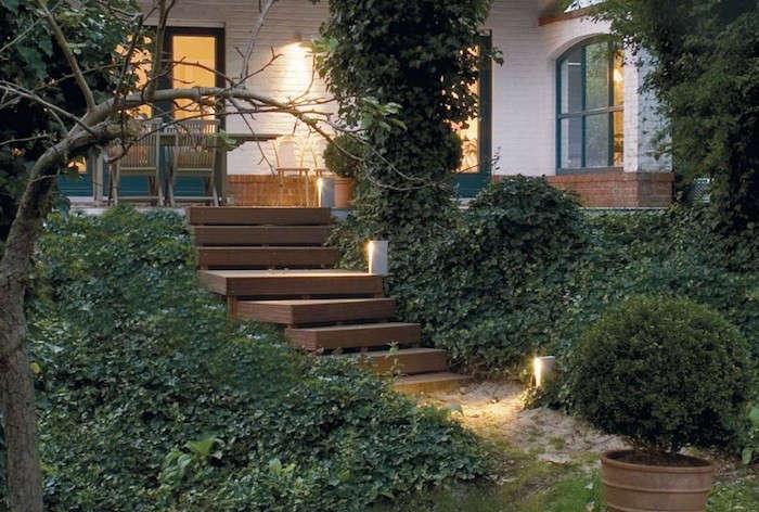 Lighting Basement Washroom Stairs: Hardscaping 101: Stairway Lighting