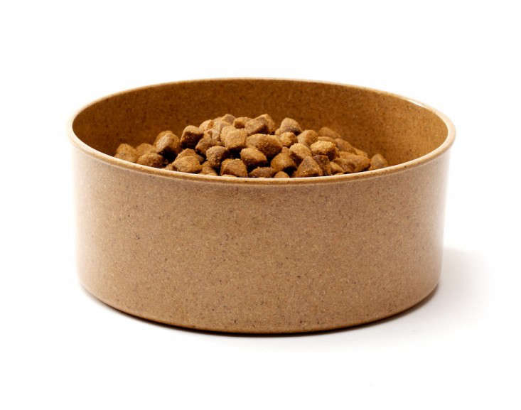 Eco Bamboo Dog Food Bowl, Gardenista